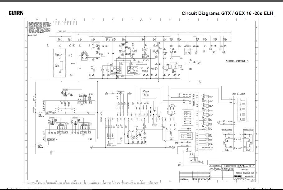 1965 Clark Forklift Wiring Diagram - wiring diagrams
