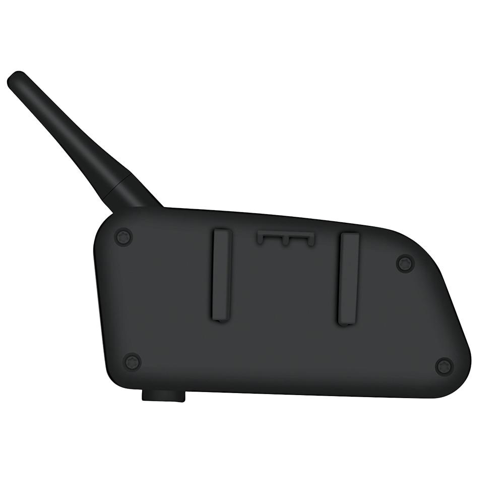 Vnetphone V4 Moto Casque Interphone Casque 1200 m 4 Coureurs Moto BT Interphone Avec FM Radio Accessoires Simples