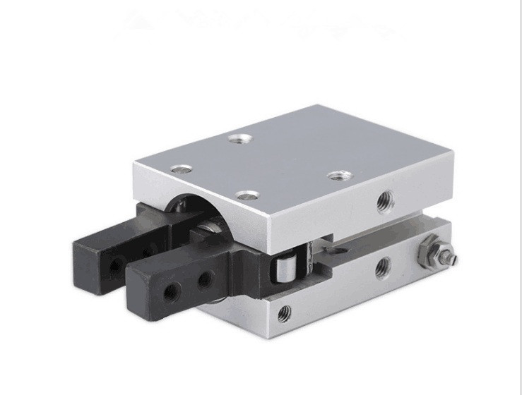 SMC type pneumatic finger cylinder double acting air gripper angular style fulcrum opening and closing type MHC2 10D 16D 20D 25D in Pneumatic Parts from Home Improvement