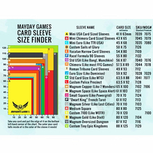100 рукава для настольных игр MAYDAY карточная игра рукав протектор защитные прозрачные карты рукава