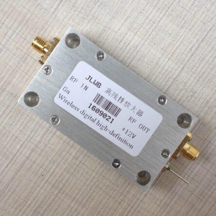 Короткие волны FM радио частота широкополосный высокой частоты линейный Мощность усилитель 1 200 мГц 1 Вт