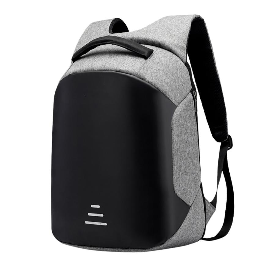 New 15.6 Laptop Backpack Anti Theft Backpack With Usb Charging Men School Notebook Bag O ...