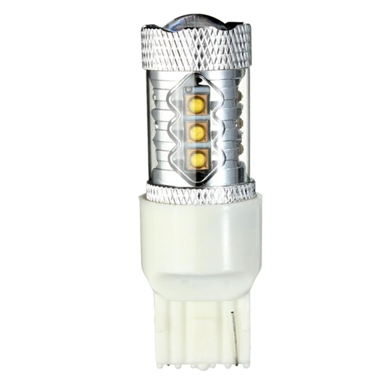 Car Signal Lamp Brake Lights Reverse Lighting White Backup Reverse High power LED Light Bulbs White Shell Super Bright Pure
