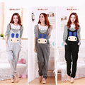 Clothes for Pregnant Pants Maternity Overalls Cartoon Rabbit Cotton Plus Size Trouser Pants for pregnant Women Maternity Clothes