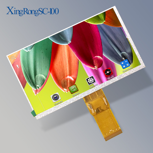 New 7Inch 163*97mm 7300101463 E231732 HD 1024 * 600 LCD Display Screen for Cube U25GT Tablet LCDs & Panels Free Shipping
