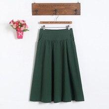Платье для беременных новые модные женские короткие юбки для беременных пакет юбка с талией юбка большого размера