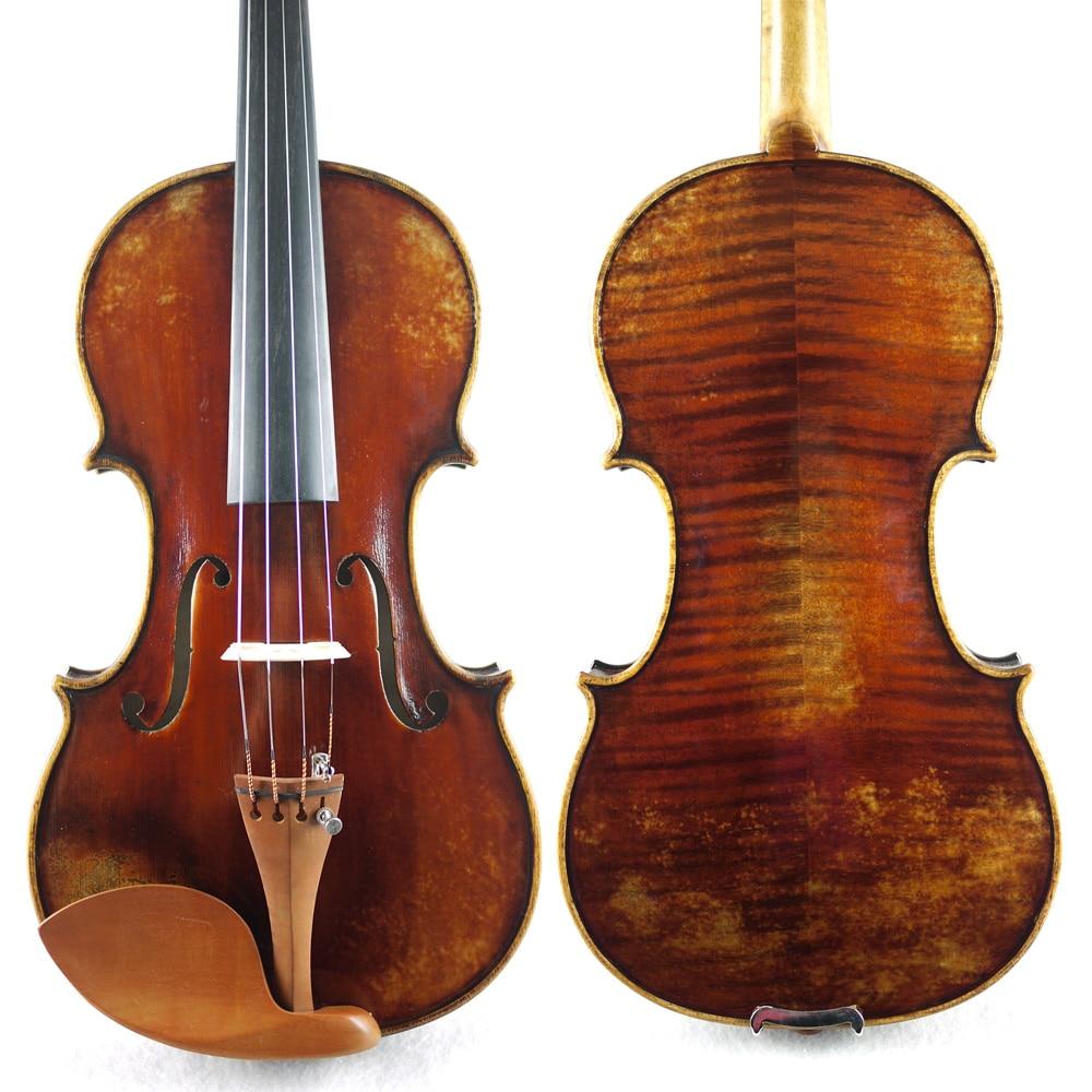 все цены на Antique Oil Varnish,Copy of  Nicolaus Amati violin,Concerto Level .No.2492. Warm &Dark  tone, Great setup онлайн