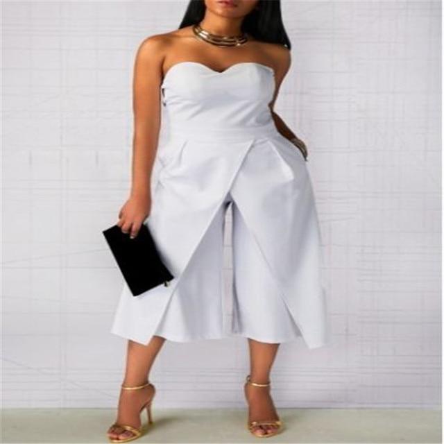 2017 High Street Women Lady Clubwear Summer Backless Off Shoulder