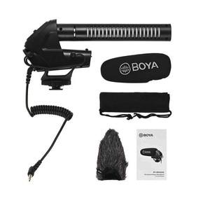 Image 5 - BOYA BY BM3031 On Camera Shotgun Microphone 3 Level Gain Control Condenser Mic for DSLR Audio Recorders Studio Video Interview