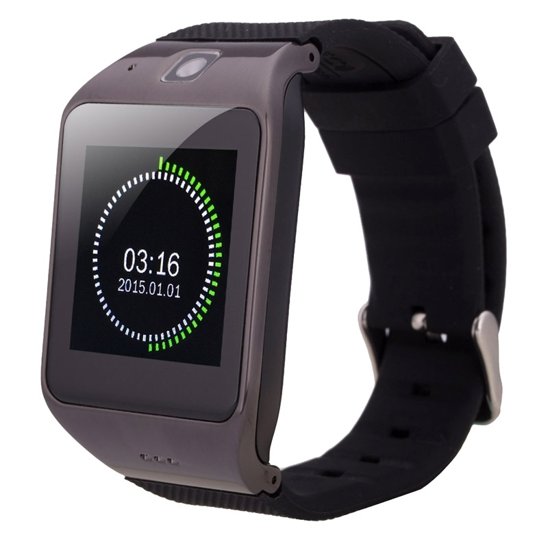 UW1 Smart Watch 1.55 inch Capacitive Touch Screen Watch Phone, Fitness Function / Pedometer / NFC / GSM .etc
