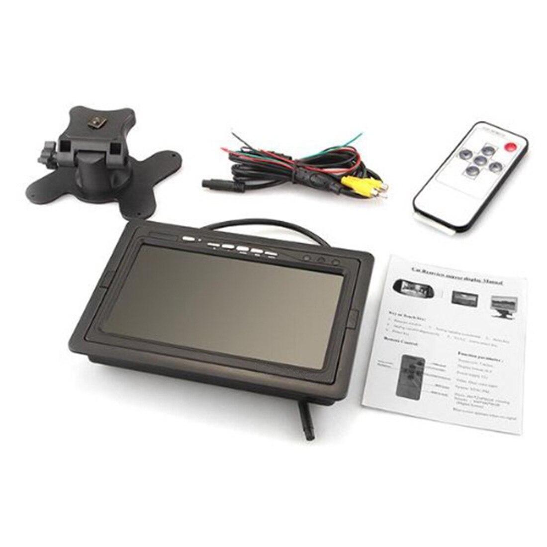 Marsnaska 2015 Hot Selling LCD Digital Color Screen Car Monitor For Backup Rear View Camera 7inch Brand New