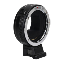 цена EF-E HS High Speed Electric Lens Mount Adapter Ring AF Auto Focus Aperture Exposure Anti-shake for Canon EF/EF-S Lens to Sony A9