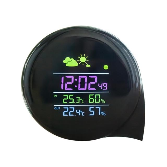2017 Nette Mini Intelligente Digitale Alarm Wetter Uhr Station Mit
