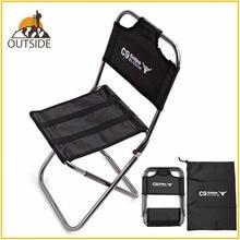 Легкий открытый рыболовный стул из прочного алюминиевого сплава нейлон камуфляж складной маленький размер стул Кемпинг Туризм стул