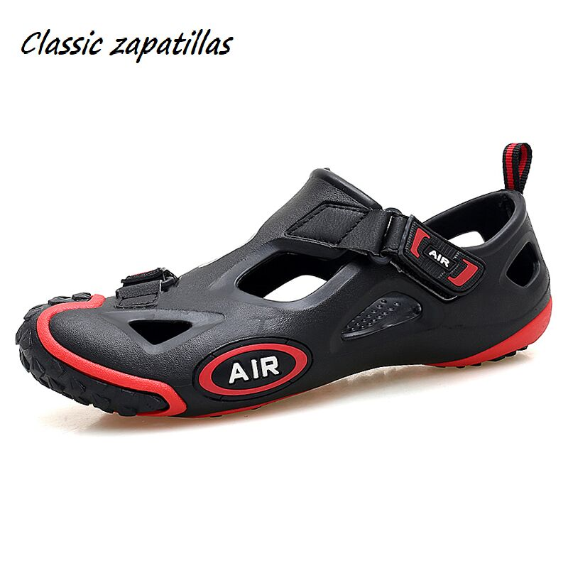 Summer Shoes Men Sandals Outdoor Water Shoes Men Beach Sandals Leisure Mens Footwear Unisex Sandals Zapatos Mujer Big Size 35-45