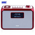 August MB400 DAB/DAB+ Radio with NFC Wireless Bluetooth Speaker ,Alarm Clock and FM Tuner Portable FM Stereo Radios SD Card
