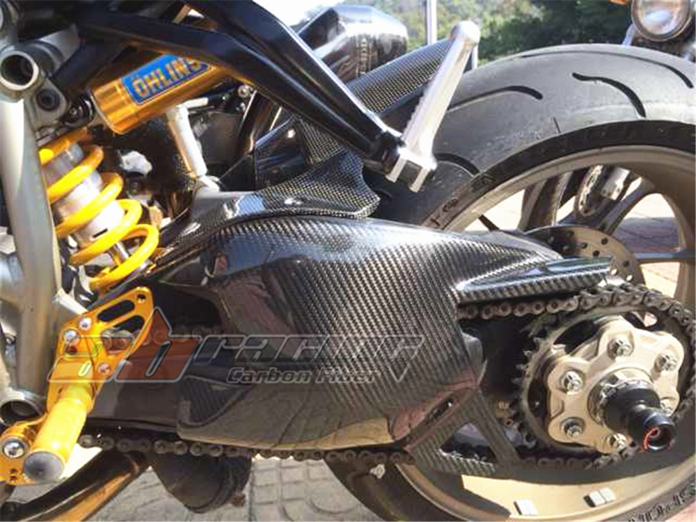Swingarm Cover For Ducati Streetfighter  Full Carbon Fiber 100%  Protection