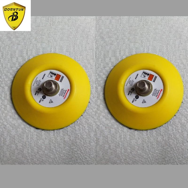 Tampons de ponceuse à air à noyau droit de 3 po Tampons de ponceuse à noyau droit pneumatiques Tampons de ponceuse à air pneumatique de 75 mm Roue de ponceuse