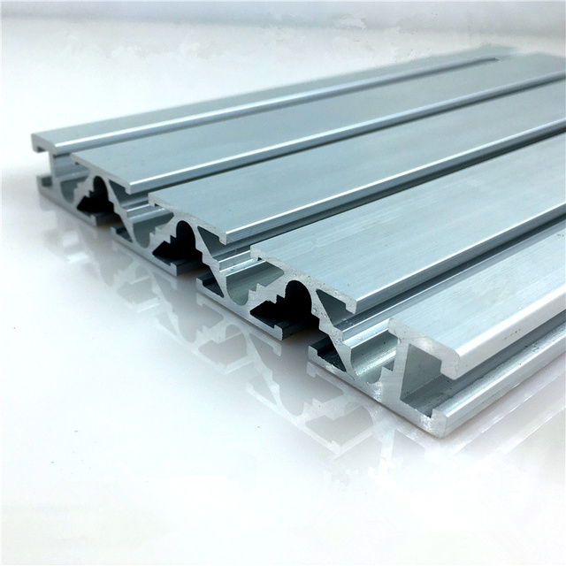 15120 aluminum extrusion profile wall thickness 1.5mm groove width 6mm length 650mm industrial aluminum profile workbench 1pcs
