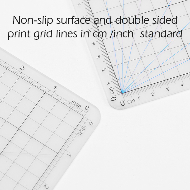 WUTA Original Design Double Side A2 Cutting Mat New Material Translucent DIY Craft Self Healing Cutting Board PVC Scabbard Mat
