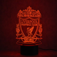 3D Led USB Table Lamp Visual Creative Soccer Gifts Night Light Bedside Decor Baby Sleeping Nightlight Futbol Football Club Lamp