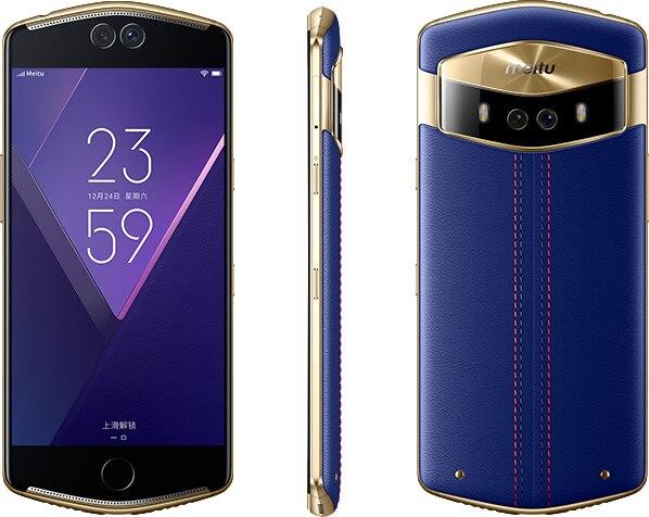 New Meitu V6 4G LTE 6GB 128GB Mobile Phone Play Store MT6799 Deca Core 5 5