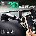 Baseus marca sólida serie telescópica magnética sostenedor del soporte del teléfono móvil 360 de rotación del montaje del coche para el iphone/samsung universal