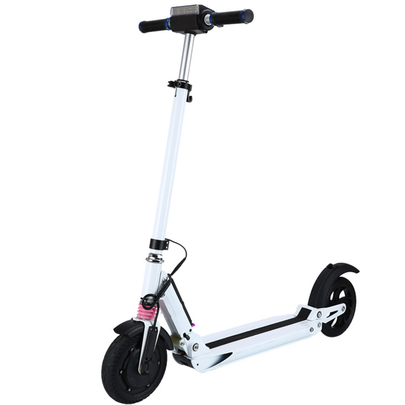 NO TAX Two wheels Power scooter personal transporter Electric Scooter with Front and rear shock absorption