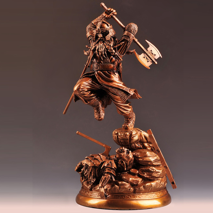 OGRM Bronze Crafts Top Level Arts LOTR Elf Dwarf Statue The Bronze Model Action Figure 43cm With Base Pre-order