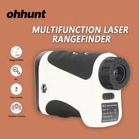 Ohhunt 600m caça multifunction laser rangefinders binóculos laser range finder lrf diastimeter medida medidor de distância a laser