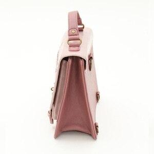 Image 3 - Alice In Wonderland Shoulder Bags axes femme vintage student schoolbag playing cards Silhouette handbag leather bag