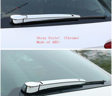 Yimaautotrims Rear Tail Windshield Window Wiper Cover Trim Fit For Volkswagen VW Tiguan 2016 2017 2018 2019 ABS Chromium Styling