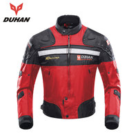 DUHAN Motorcycle Racing Jackets Body Armor Protective Moto Jacket Motocross Off Road Dirt Bike Riding Windproof