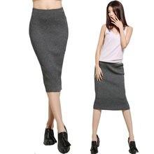 8d67ef7c Woman Skirt Warm Knitted Midi Promocja-Sklep dla promocyjnych Woman ...