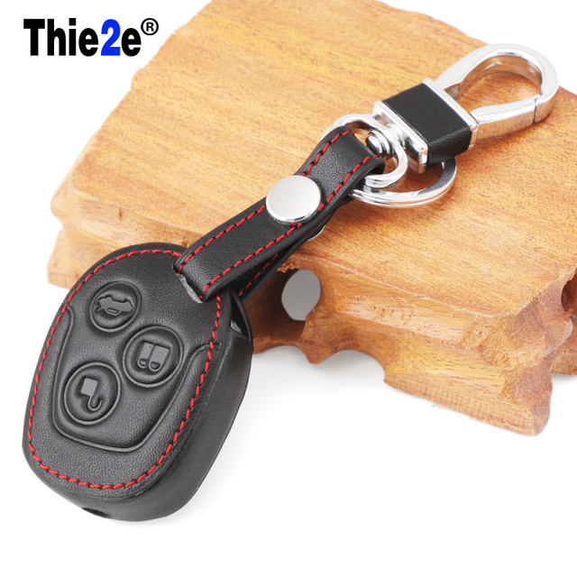 Pcs Of Leather Key Cover Case New Replacement Fit For Ford Fiesta C Max Ka