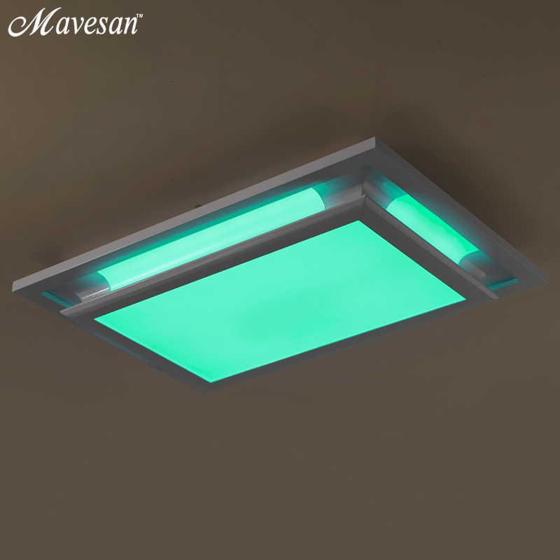 Горячая продажа потолочный светильник пульт дистанционного управления plafon светодио дный для комнаты RGB потолочный светильник для 15-30квадратных метров гостиная светильник дизайн
