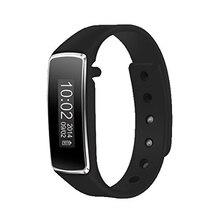 YCYS-V5 Bluetooth Reloj Inteligente Podómetro Paso corta Distancia Calorie Counter Perseguidor Del Deporte (Negro)