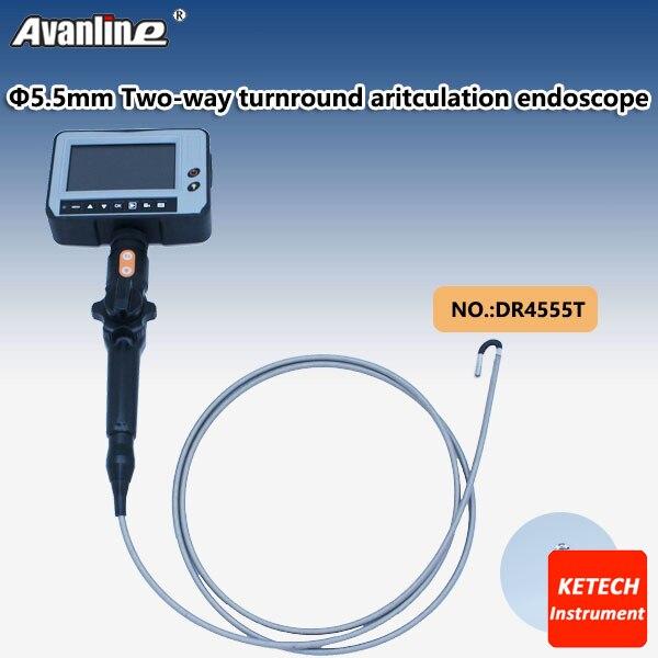 Messung Und Analyse Instrumente FäHig 4,3 lcd Endoskop Inspektionskamera 1,5 Mt Flexible Rohr Professionelle Video Endoskop Od 5,5mm 2 Way Industrie Endoskop Dr4555t Clear-Cut-Textur Endoskope