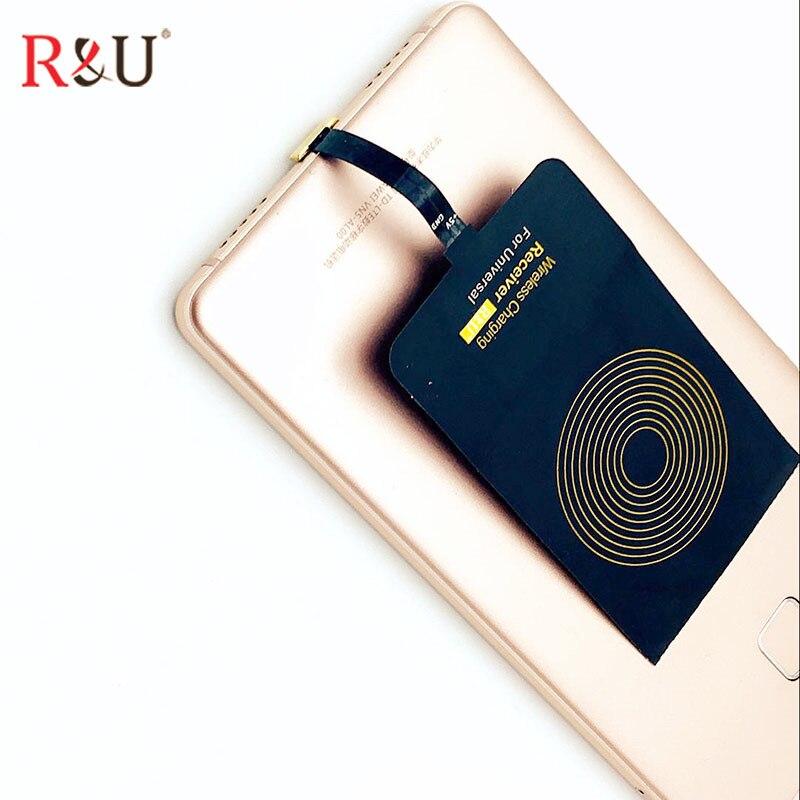 R & u 3 катушки Ци Беспроводной Зарядное устройство Pad Стандартный + Беспроводной Зарядное устройство приемник для Asus Zenfone 2 5, 6 padFone бесконечнос...