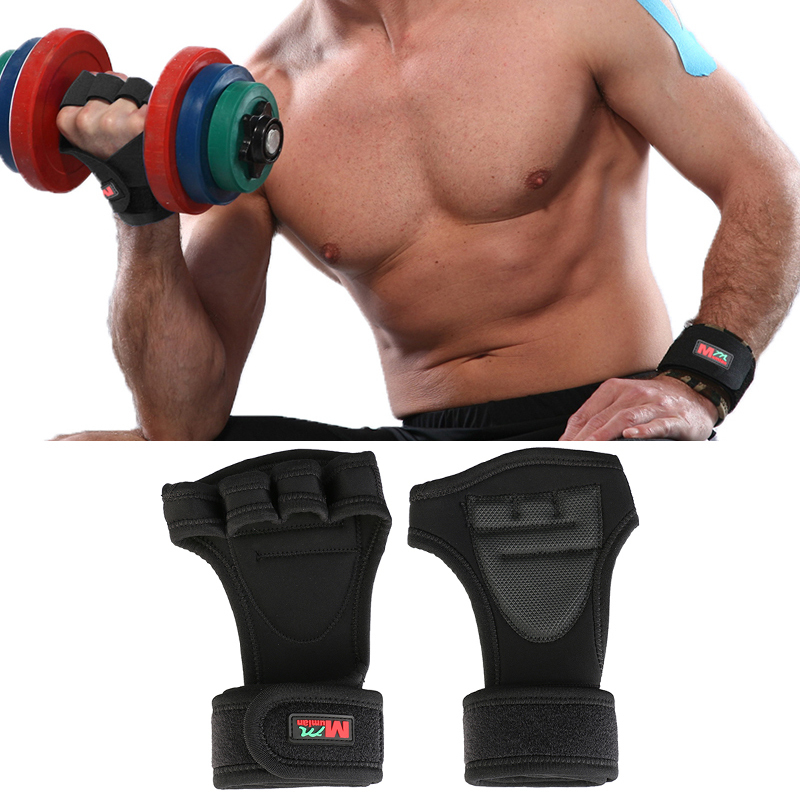Reebok Strength Training Gloves Weight Lifting Fitness: Dumbbell Gloves Grip Crossfit Sport Gym Fitness Barbell