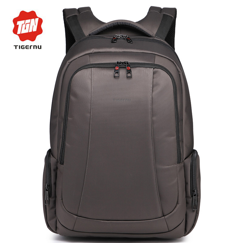 ФОТО 2017 Tigernu Large Capacity Anti-theft Waterproof Mochila Women's Men's Backpacks Bags Casual Business Laptop Backpack 17 Inch
