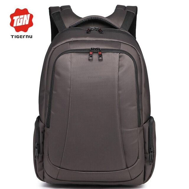 2017 tigernu mochila de gran capacidad anti-robo a prueba de agua de las mujeres mochilas de los hombres de negocios informales mochila portátil 17 pulgadas