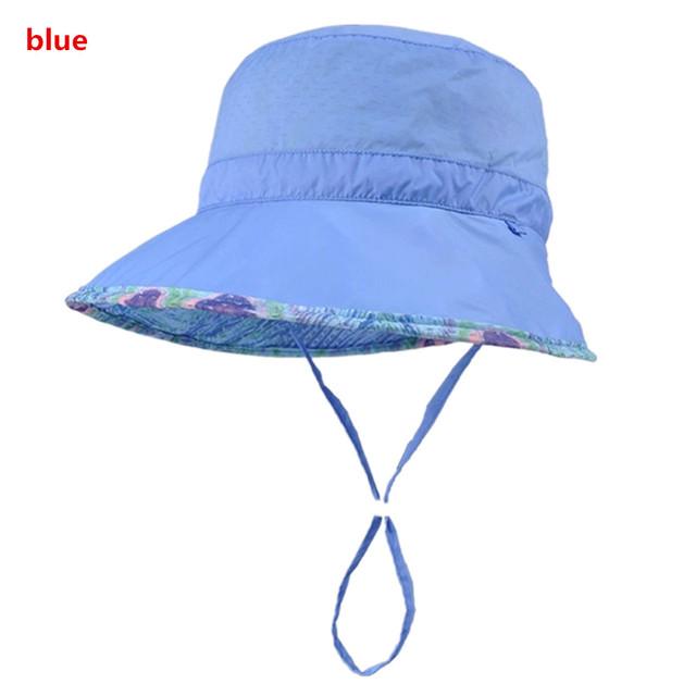 Kenmont Mujeres Señora Beach Bucket Dom Sombrero Panamá Cap Tapa Plegable Anti-Ultravioleta de Secado rápido Del Deporte Al Aire Libre 3143