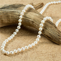 Womens jewellery chain pearl necklace bridal female Fashion Pearl Statement Necklace white wedding gifts pearl necklace