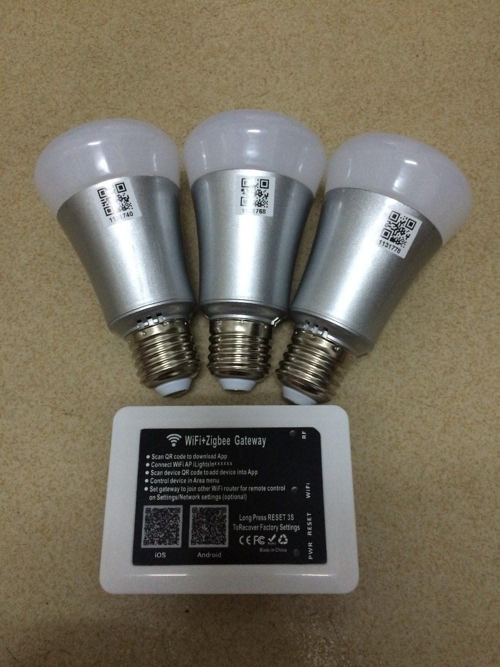 zigbee light link protocol e27 7w 650lm rgbw bulbs 4 value. Black Bedroom Furniture Sets. Home Design Ideas