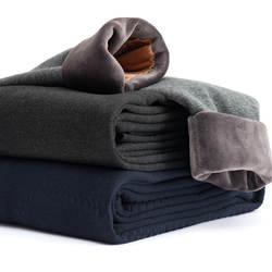 Зимние термобелье для мужчин термос брюки для девочек мужской шерсть хлопок утепленное нижнее белье мотобрюки мужские зимние теплые штаны