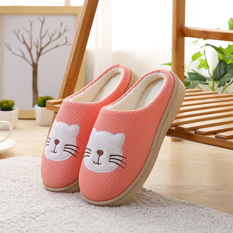 New Animal Home Slippers Women Fashion Classic Fur Women
