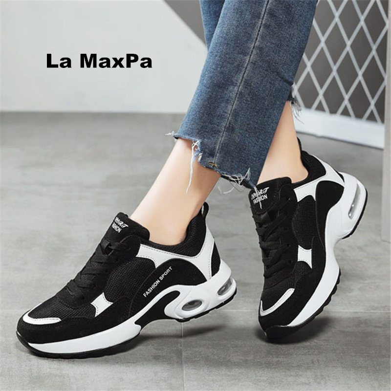 Sale adult Summer running shoes women's Air damping breathable mesh sneakers Women's street sports shoes woman zapatillas mujer
