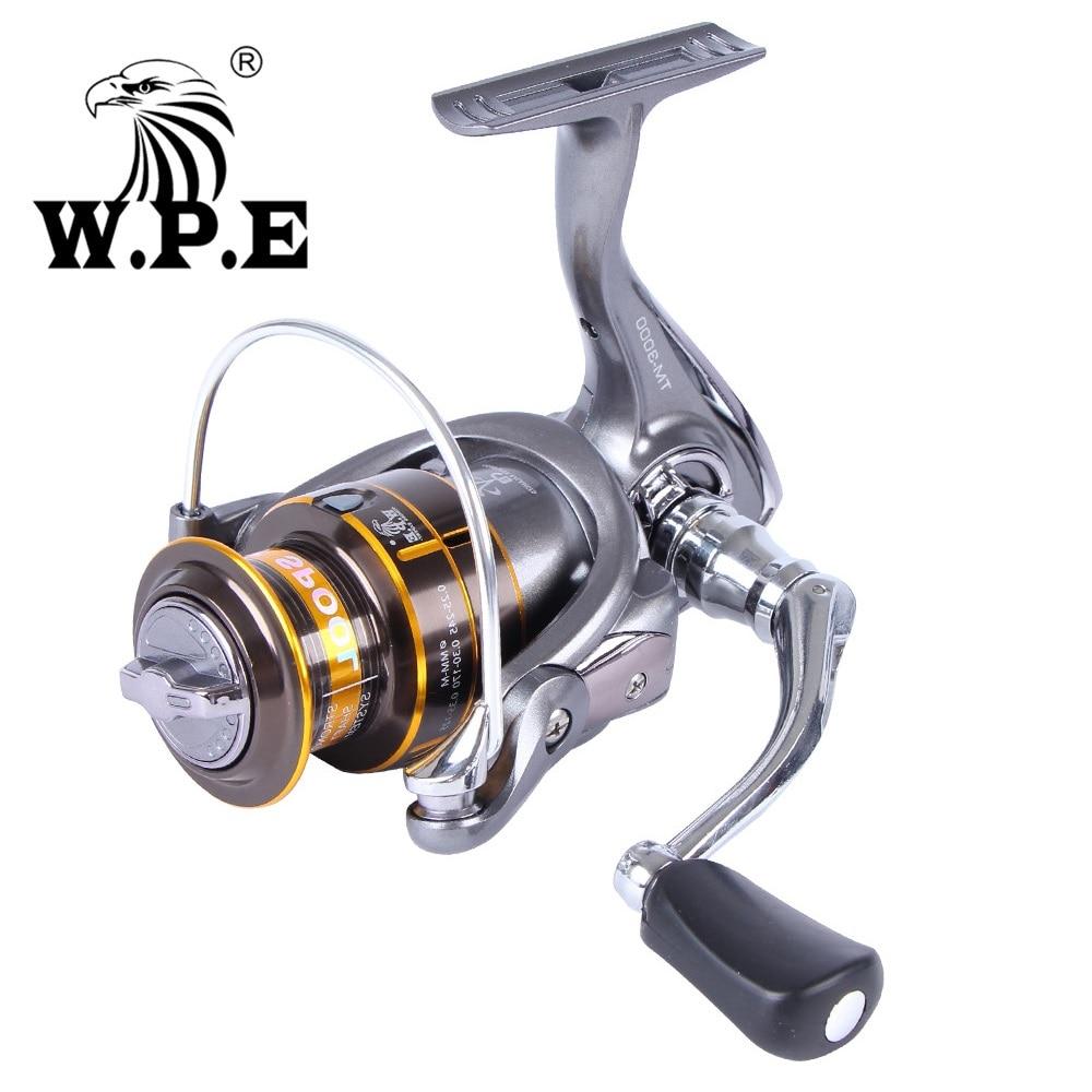 W.P.E Tourament 3000-6000 Coil Full Metal Handle Spinning Reel 10+1 Ball Bearings Carp Fishing Reel For Bass Pike