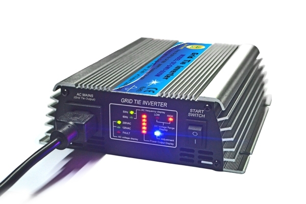 300W Grid Tie Micro Inverter, 22V~60V DC to AC 190-260V Small Inverter for 30V or 36V Solar or Wind Power System